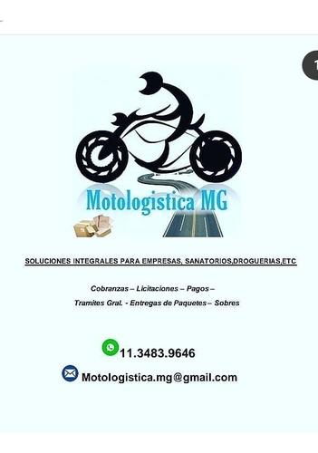 mensajeria!! motologistica mg