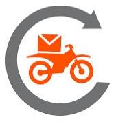 mensajeria rds en moto envios flex..!! capital y gba.