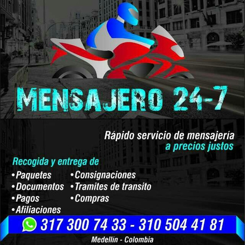 mensajero 24-7