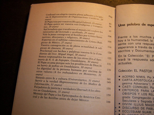 mensajes de juan pablo ii en américa latina