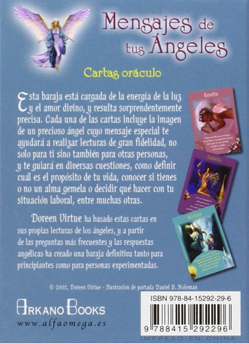 mensajes de tus angeles - doreen virtue - arkano books