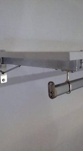 mensula soporte barral estante perchero comercial  ashima