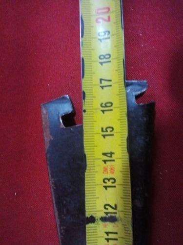 mensulas  de 17 cm riel