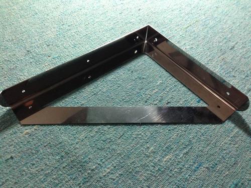 mensulas de hierro o acero inox reforzadas para estantes