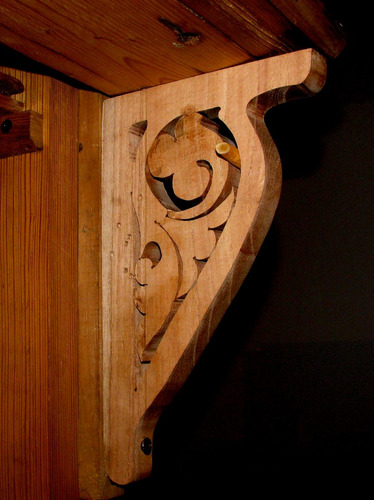 ménsulas de madera - muy decorativas