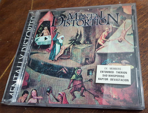 mental distortion - mentally distorted cd entombed therion