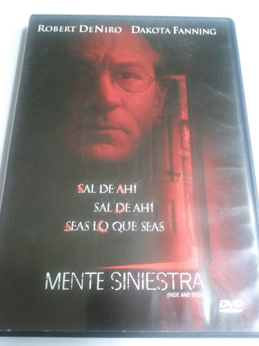 mente siniestra ( hide and seek ) dvd - original
