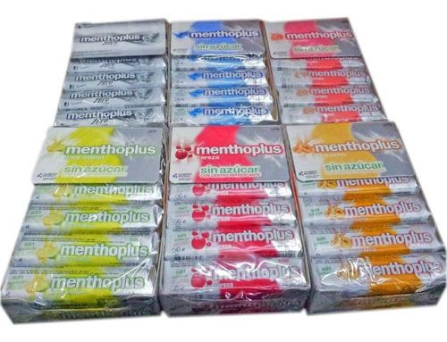 menthoplus sin azucar  x12un - superoferta en la golosineria