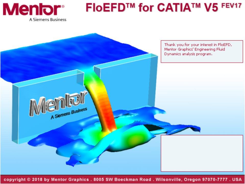 Mentor Graphics Floefd 17 3 For Catia V5