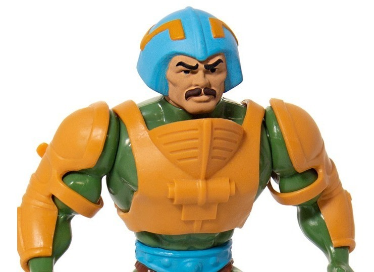 Masters of the Universe Man At Arms Action Figure Vintage Motu Collection Super7