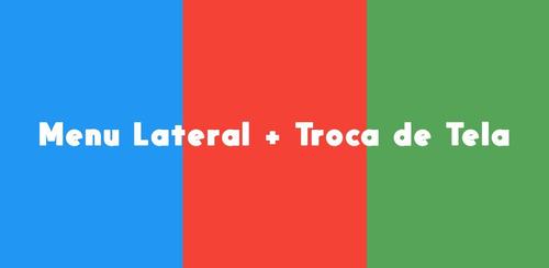 menu lateral + troca de tela - projeto aia - thunkable
