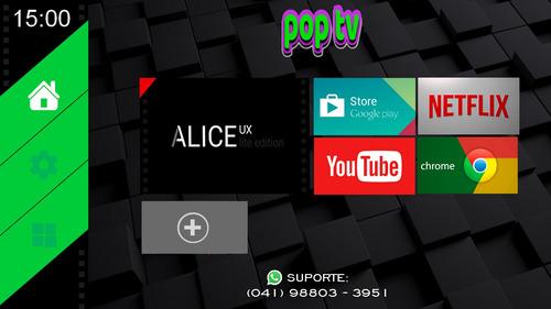 menu personalizado (launcher) para tvbox - androidtv