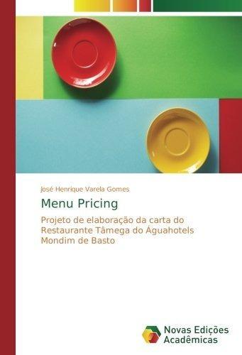 menu pricing : josé henrique varela gomes