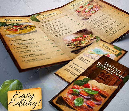 menú restaurante