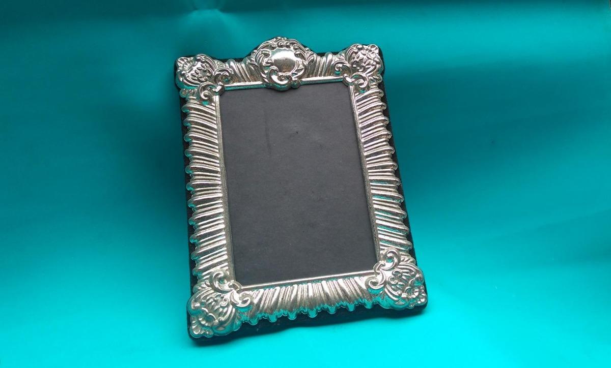 Meonli: Viejo Marco Metal Diseño Cuadro - S/ 40,00 en Mercado Libre