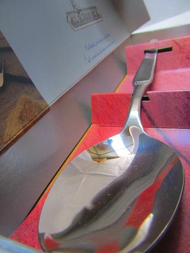 mepai cubiertos gamuza cuchara para guiso ga125011