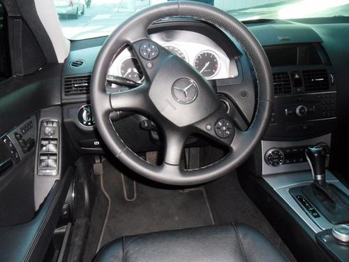 merc benz c 280 avantgarde 2008 prata 3.0 v6 teto top rd 19