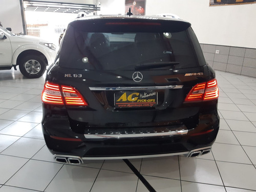 merc benz ml 63 amg 2012 preta 5.5 v8 bi-turbo blindada niii