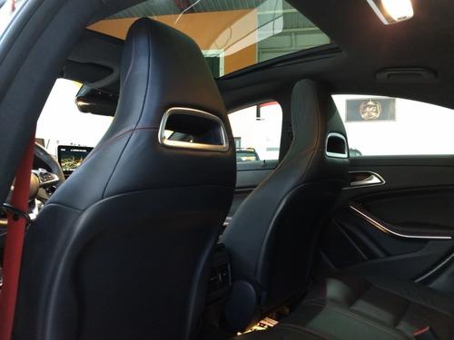 merc cla 45 amg 2015 branca 2.0 turbo teto 450 cv 18000 km