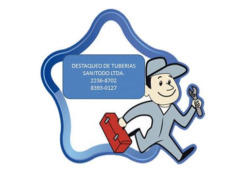 mercado libre destaqueo de tuberías sanitodo 9393-0127