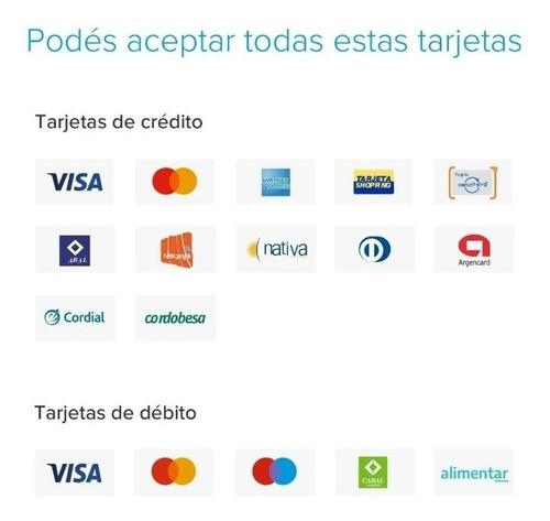 mercado pago point (bluetooth) lector de tarjetas cred/deb