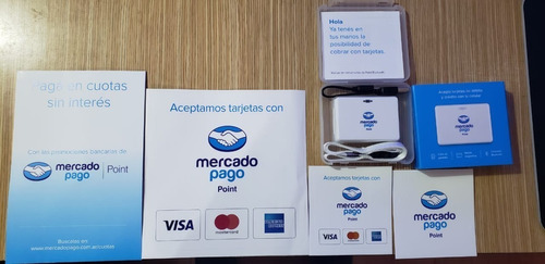 mercado point bluetooth lector tarjetas posnet credito