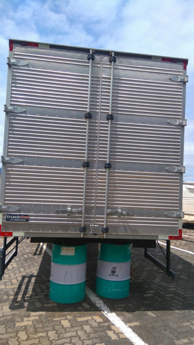 mercalf - baú corrugado 6,50 x 2,60 x 2,70 novíssimo