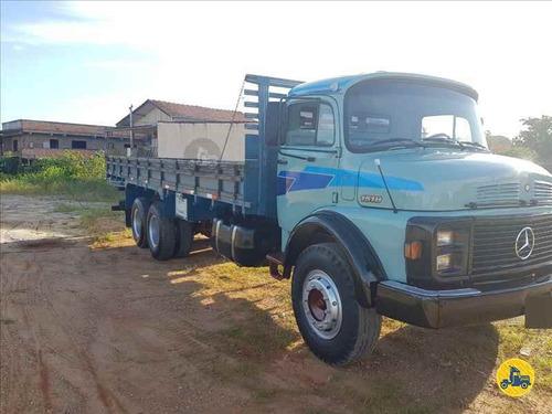 mercedes 1518 6x2 1987 com carroceria madeira