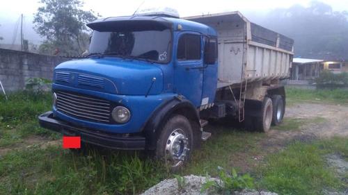 mercedes 1519- motor -1630 -traçada -reduzida-caçamba- 1978