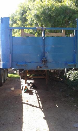 mercedes 1519 tractor con semiremolque