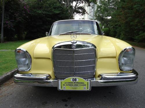 mercedes  1962 220se coupe - diesel -totalmente restaurado