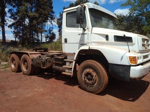 mercedes 2638 6x4 ano 2003/2003 cavalo mecânico