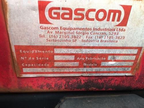 mercedes 2726 6x4 ano 2011/2011 tanque pipa gascom