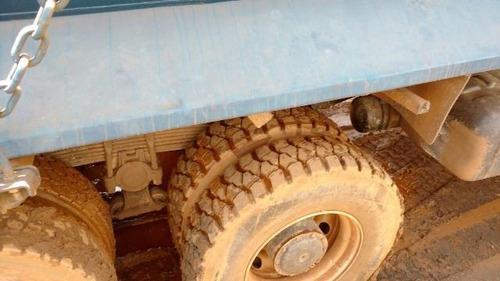 mercedes 2831 6x4 ano 2011/2001 caçamba rossetti meia cana