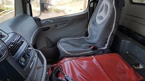 mercedes 2831 6x4 ano 2011/2011 caçamba hardox   km 159.00