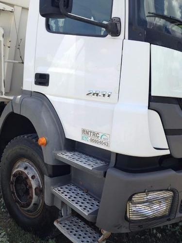 mercedes 2831 6x4 ano 2012/2012 o mais novo do brasil