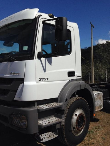 mercedes 3131 6x4 ano 2014/2014 no chassi impecável