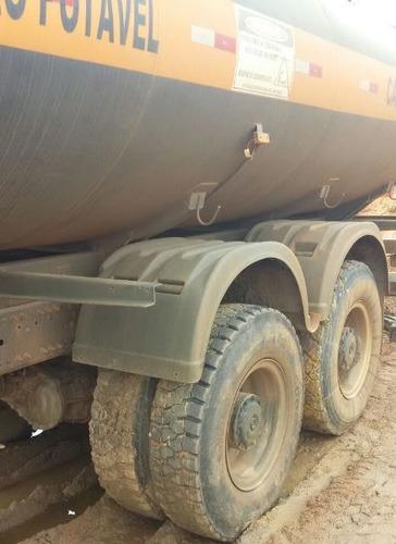 mercedes 3131 6x4 ano 2014/2014 tanque pipa gascom