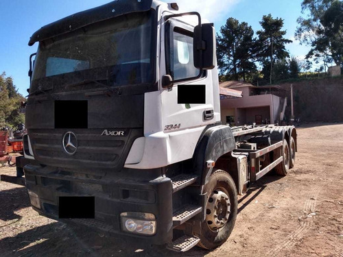 mercedes 3344 6x4 roll on off