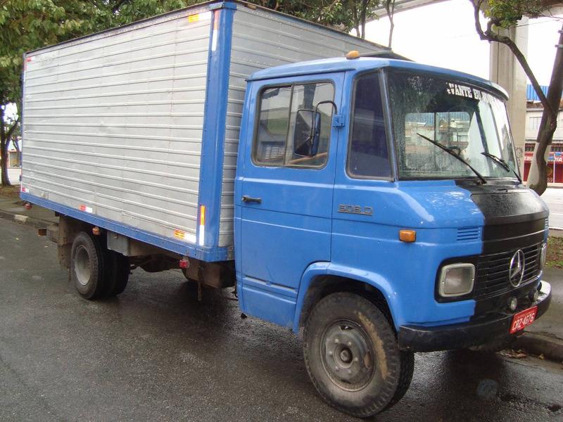 mercedes 608 caminhão