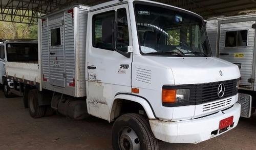 mercedes 710 4x2 com módulo para passageiros   5 unidades