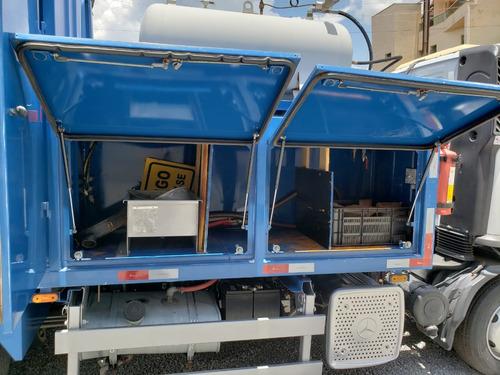 mercedes acello 815 4x2 ano 2013 comboio ecológico gascom
