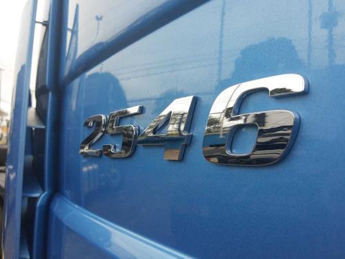 mercedes actros 2546 mega space 6x2 2019 bug leve