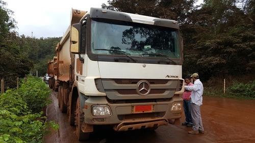 mercedes actros 4844k 8x4 ano 2010/2011
