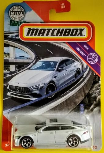 mercedes-amg gt 63 s matchbox highway 2020 *7* leer