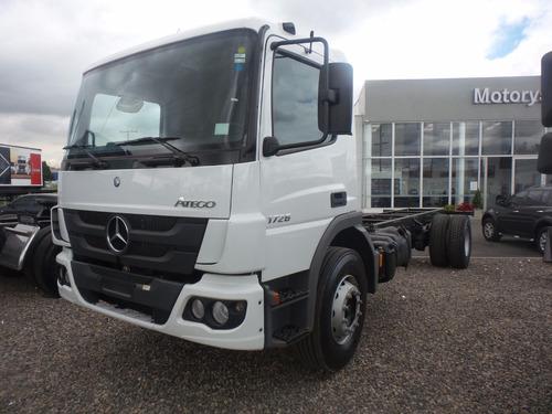 mercedes atego 1726 modelo 2022 un super camion con estrella