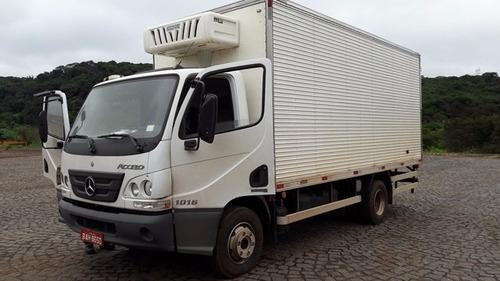 mercedes-bens 1016 4x2 ano 2015/2016 frigorífico 0 km novo