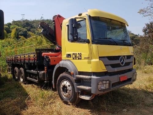 mercedes-bens axor 3131 6x4 ano 2014 munck madal pkk 23.000