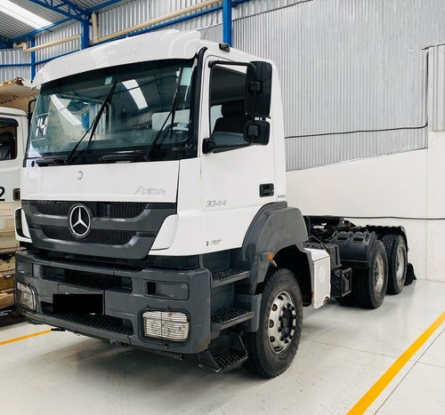 mercedes-bens axor 3344 6x4 ano 2014 cavalo cabine simples