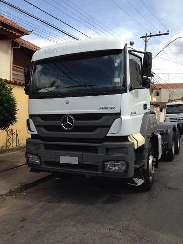mercedes-bens axor 3344 6x4 ano 2014 (cavalo mecânico)